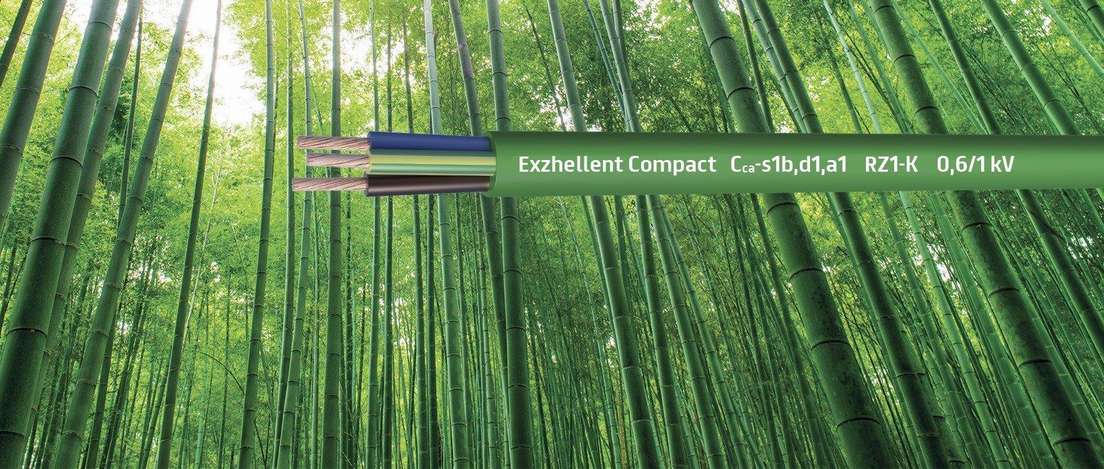 ExZHellent® Compact: Compacto y Ligero, Inspirado en la naturaleza