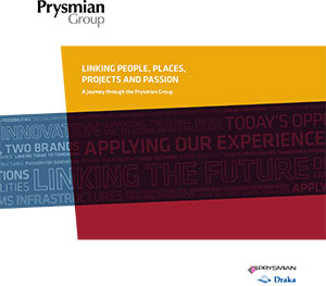 Folleto corporativo de Prysmian Group