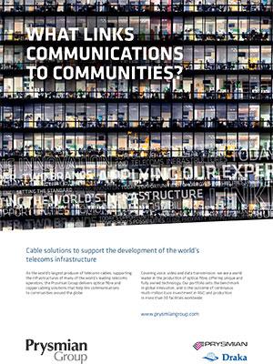 Anuncio Telecomunicaciones Prysmian Group