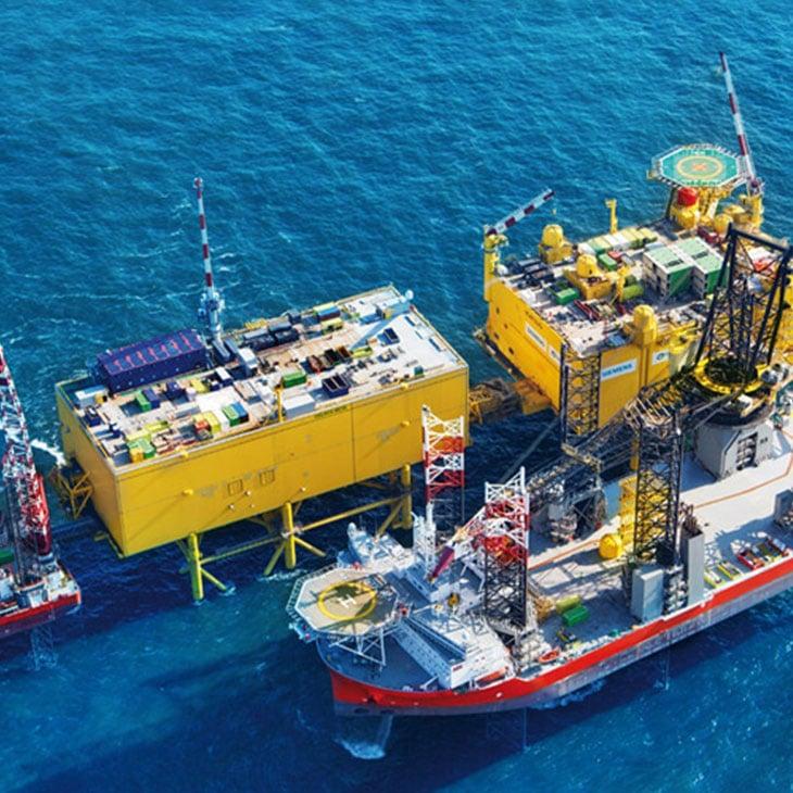 Transmisión de energía de Alta tensión y Submarinas