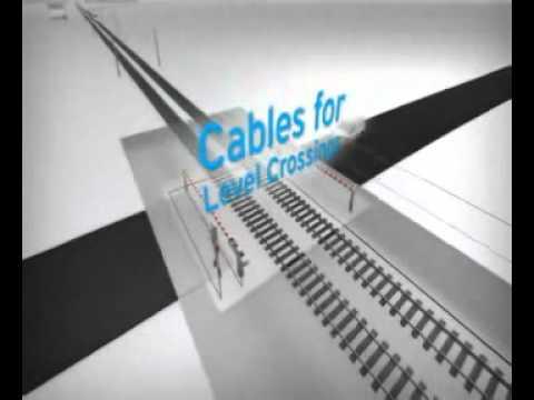 Cables de señalización ferroviaria