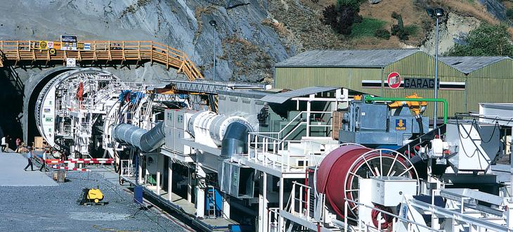 Cables para la construcción de túneles